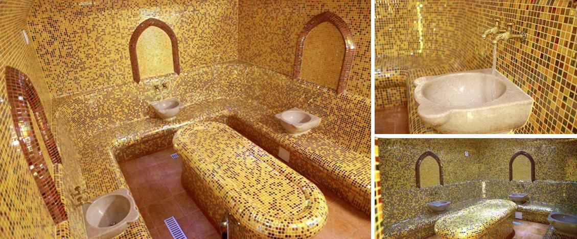 Cabines Hammam préfabriquées avec revêtement céramique ...