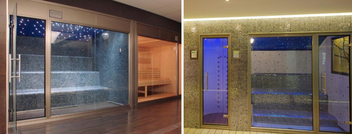 Cabines Hammam préfabriquées avec revêtement céramique - Maison et Spa