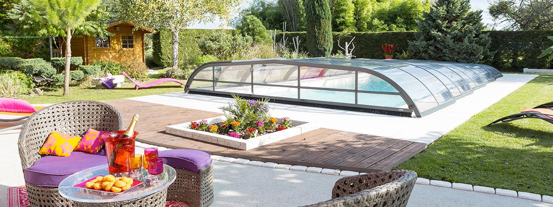 abris de piscine pas cher infos sur piscine pas cher arts et voyages abri pour piscine hors. Black Bedroom Furniture Sets. Home Design Ideas